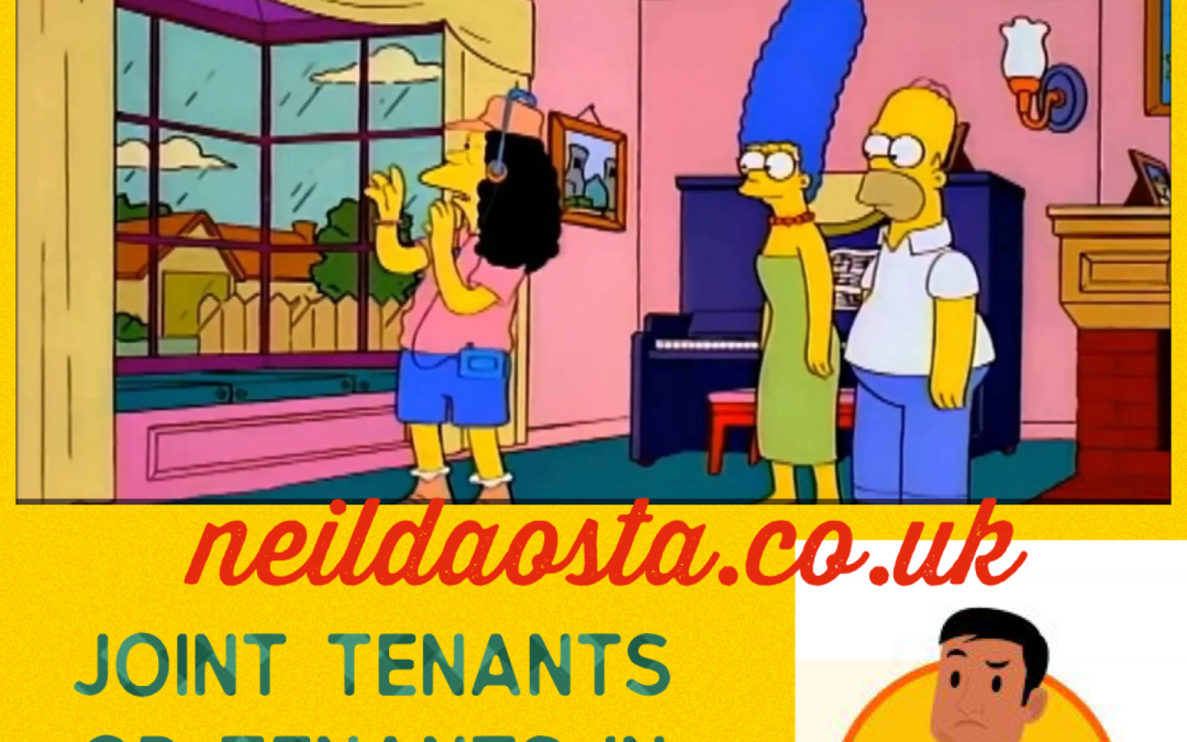 Joint Tenants or Tenants In Common???