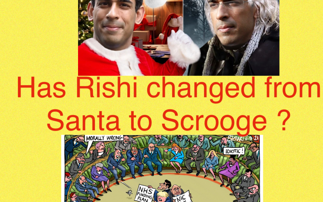 Has Rishi Changed From Santa To Scrooge?